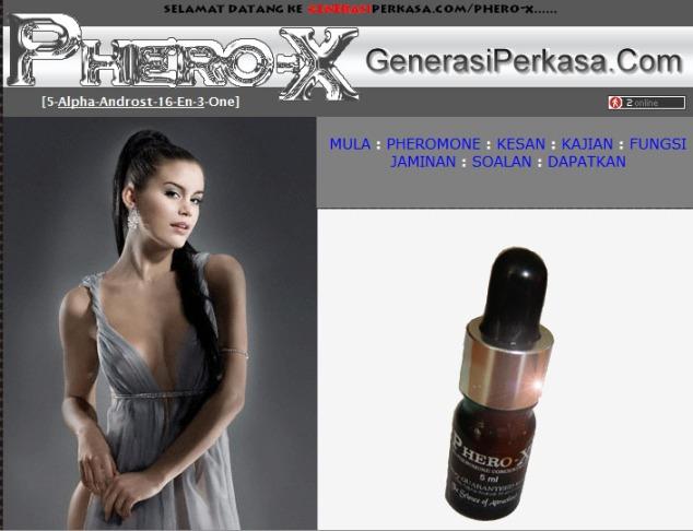 phero-x minyak wangi hormon pemikat wanita