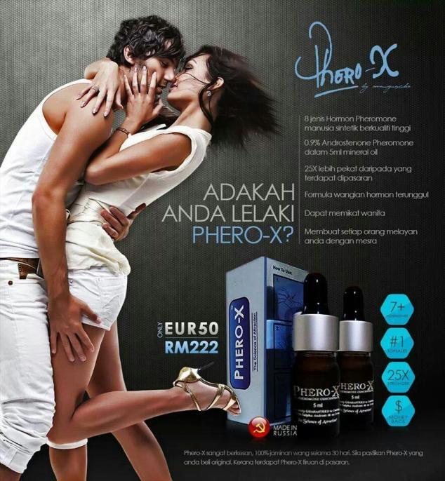 Phero-X Perfume - Minyak Wangi Hormon Pemikat Wanita